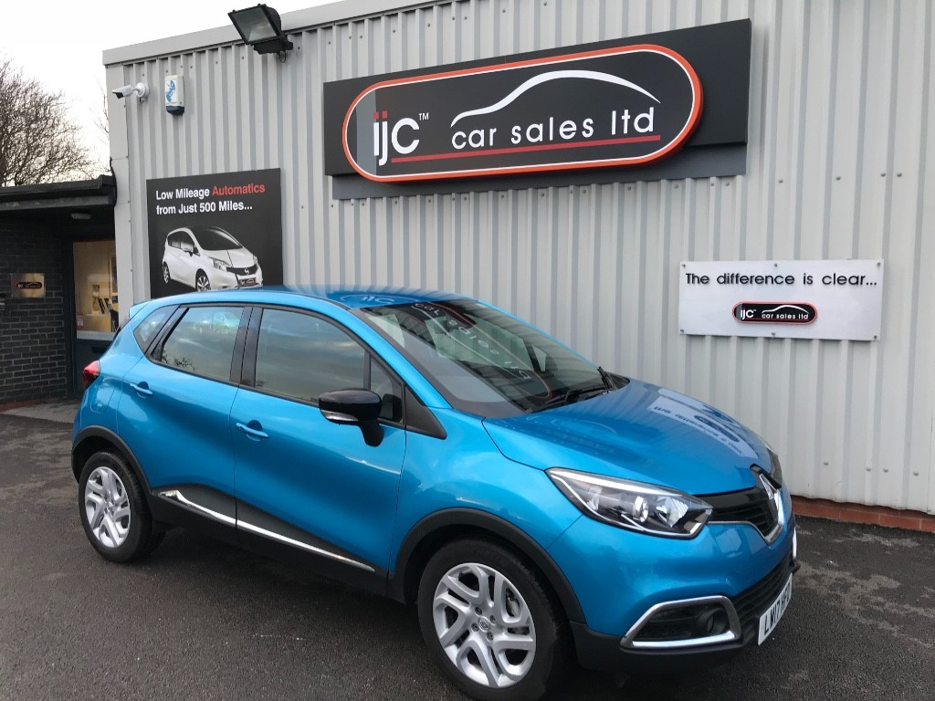 used Renault Captur 2017 (17) DYNAMIQUE NAV 1.5 DCI in louth-lincolnshire