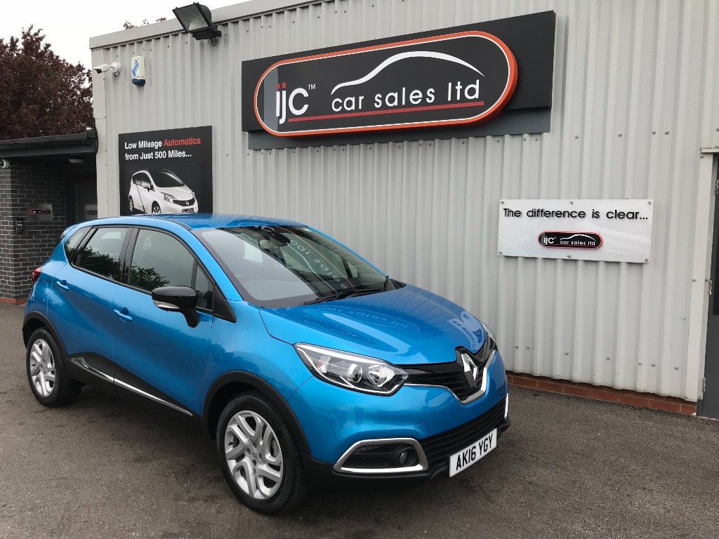 used Renault Captur DYNAMIQUE NAV DCI in louth-lincolnshire