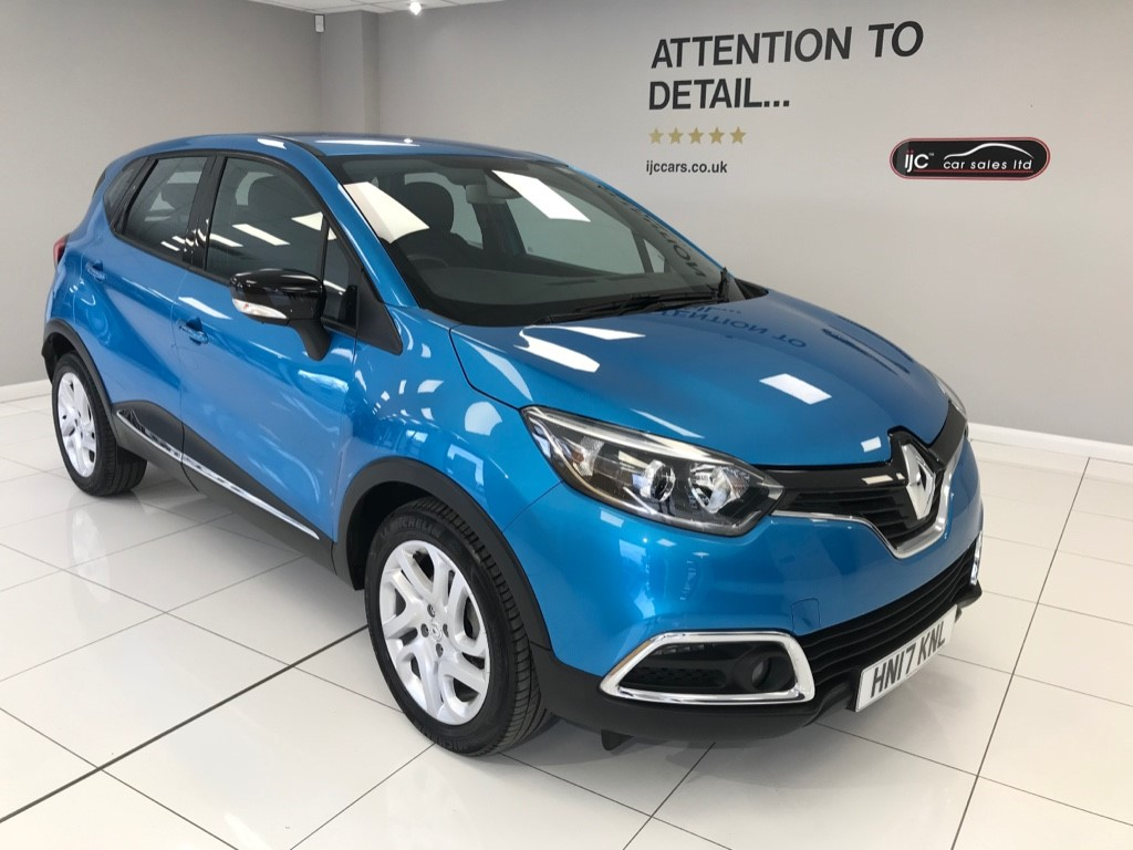 used Renault Captur DYNAMIQUE NAV DCI AUTOMATIC DIESEL WITH HIGHER SEATING, NAVIGATION, AND ZERO ROAD TAX in louth-lincolnshire