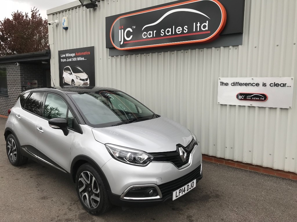 used Renault Captur DYNAMIQUE S MEDIANAV DCI in louth-lincolnshire