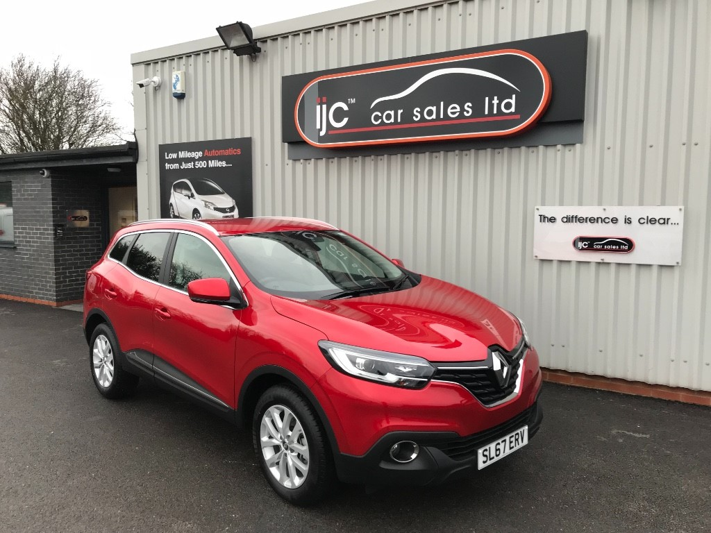used Renault Kadjar 2017 (67) DYNAMIQUE NAV TCE in louth-lincolnshire