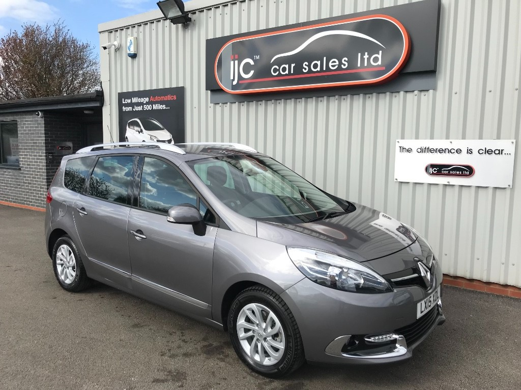 used Renault Scenic GRAND DYNAMIQUE TOMTOM DCI EDC in louth-lincolnshire