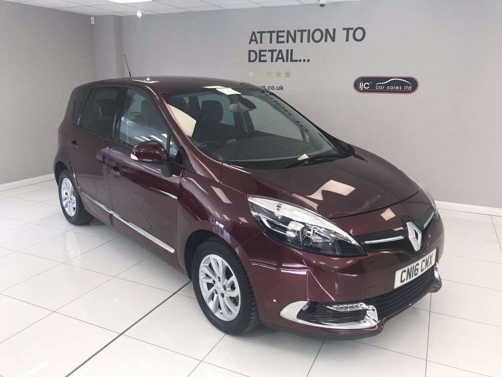 used Renault Scenic DYNAMIQUE NAV DCI 120bhp in louth-lincolnshire