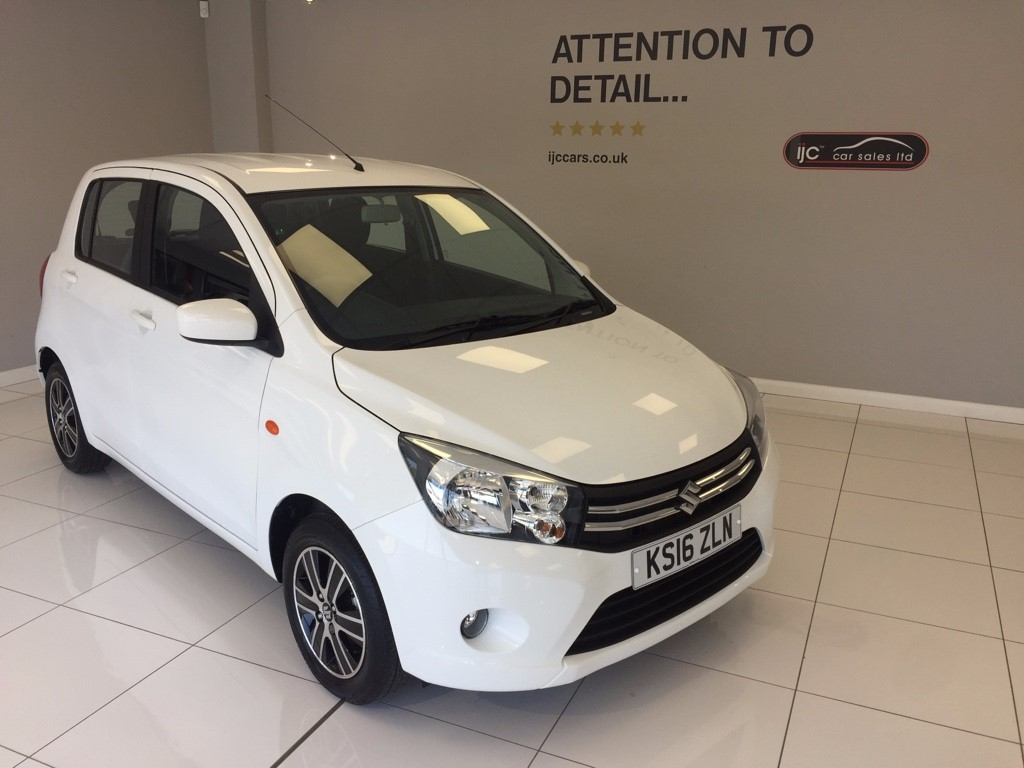 used Suzuki Celerio SZ4 AUTO WITH JUST 3,412 MILES! �0 TAX in louth-lincolnshire