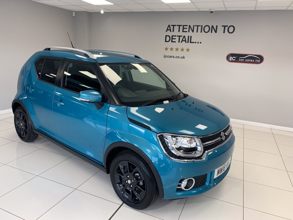 used Suzuki Ignis SZ5 DUALJET WITH JUST 4568 MILES PETROL AUTOMATIC WITH SATNAV AND HIGHER SEATING in louth-lincolnshire