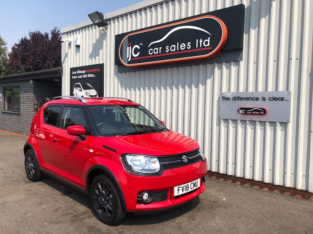 used Suzuki Ignis SZ-T DUALJET in louth-lincolnshire