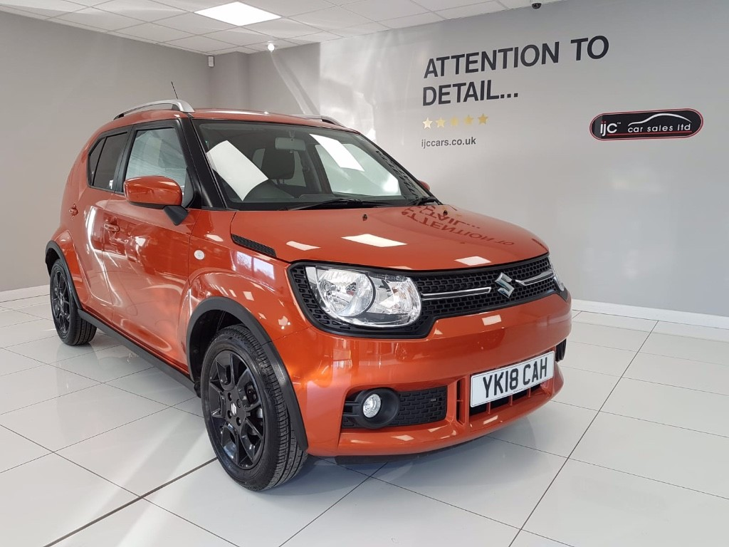 used Suzuki Ignis SZ-T DUALJET,PETROL AUTOMATIC WITH JUST 5,943 MILES! in louth-lincolnshire