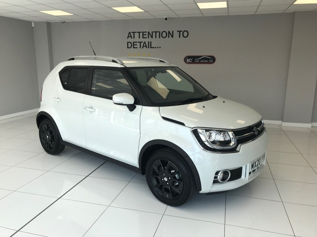 used Suzuki Ignis SZ5 DUALJET TOP OF THE RANGE PETROL AUTO 3 MONTHS OLD AND JUST 188 MILES! in louth-lincolnshire
