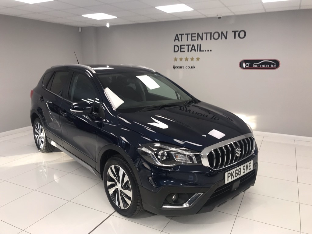 used Suzuki S-Cross SZ-T BOOSTERJET AUTOMATIC in louth-lincolnshire