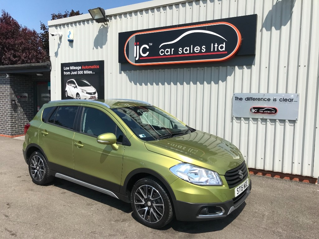 used Suzuki S-Cross SZ-T 1.6 PETROL AUTO in louth-lincolnshire