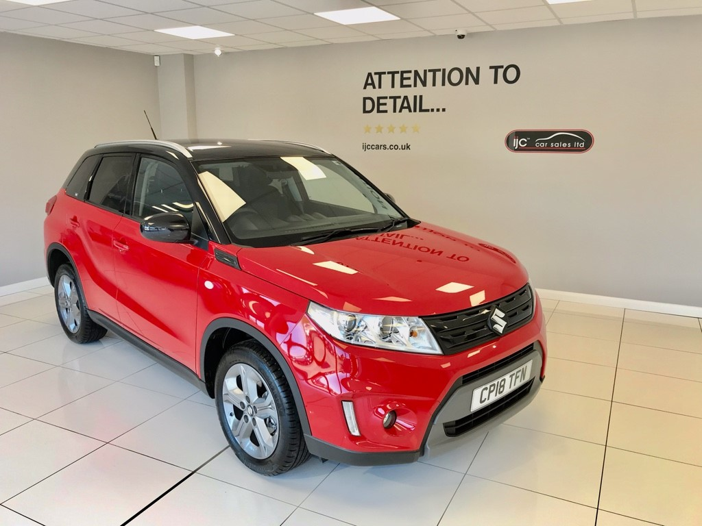 used Suzuki Vitara SZ-T 1.6 PETROL AUTOMATIC, JUST 1,822 MILES!! in louth-lincolnshire