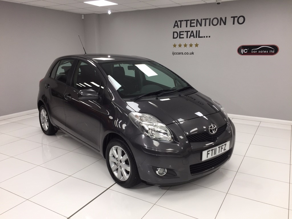 used Toyota Yaris VVT-I T SPIRIT MM RARE LOW MILAGE AUTO in louth-lincolnshire