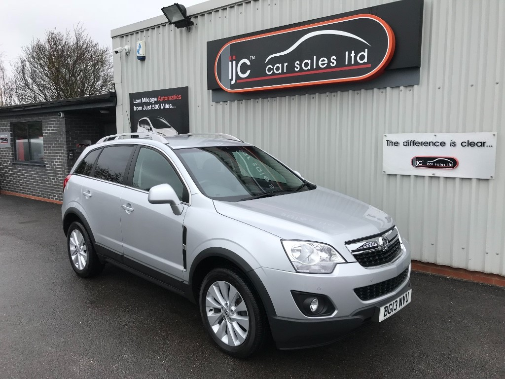 used Vauxhall Antara EXCLUSIV CDTI in louth-lincolnshire