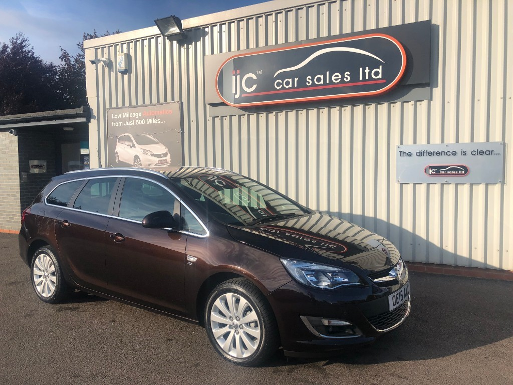 used Vauxhall Astra ELITE 1.6 PETROL AUTOMATIC in louth-lincolnshire