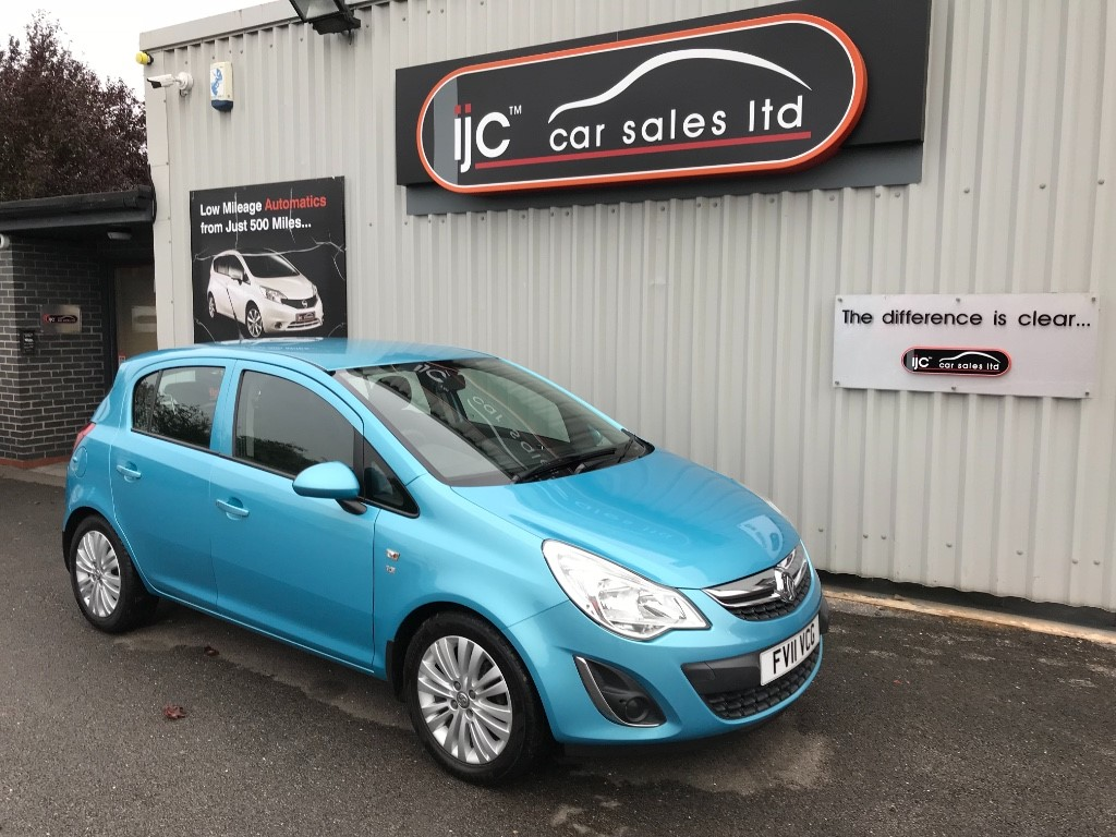 used Vauxhall Corsa EXCITE AC in louth-lincolnshire