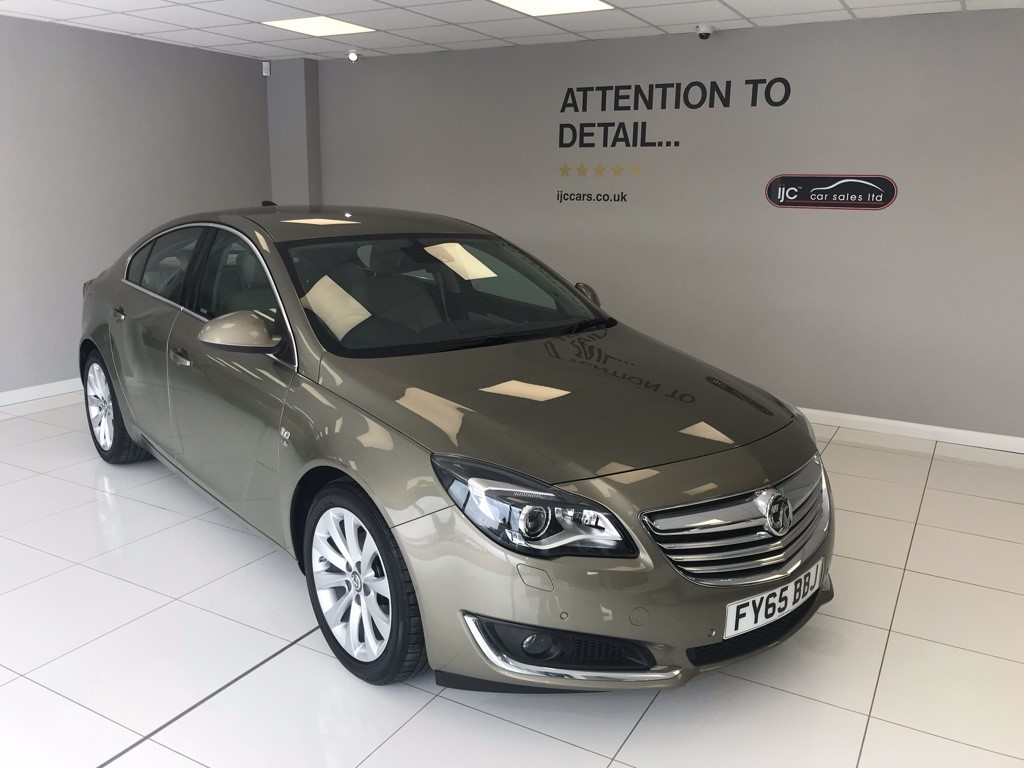 used Vauxhall Insignia ELITE NAV CDTI ECOFLEX S/S in louth-lincolnshire