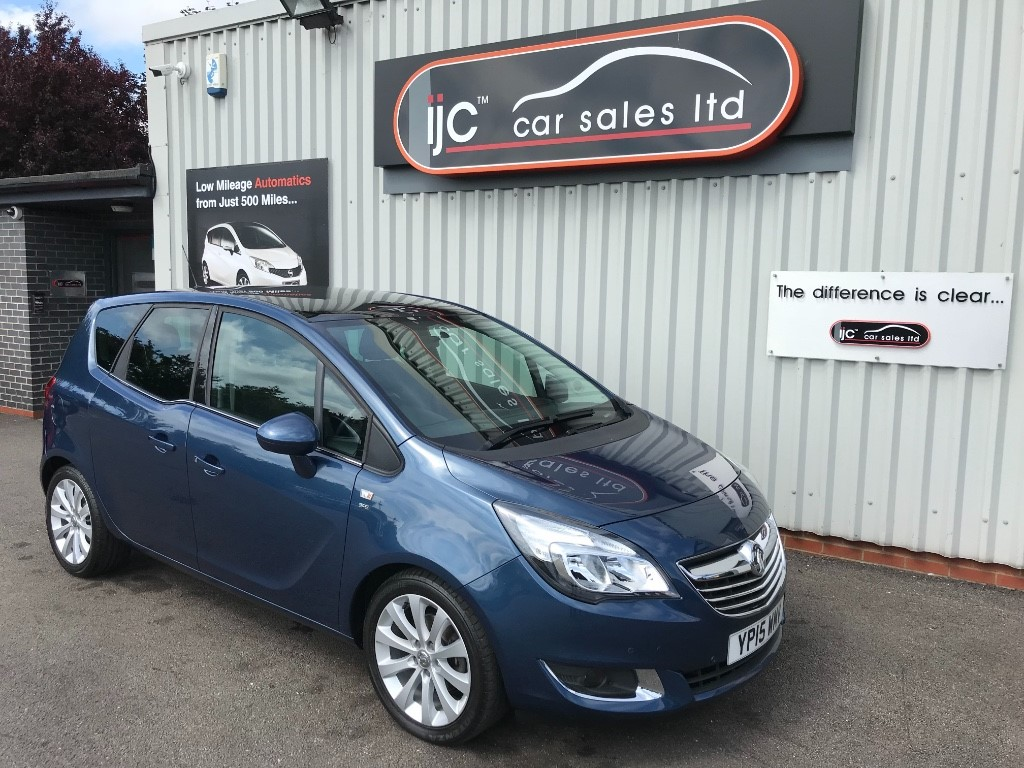 used Vauxhall Meriva SE in louth-lincolnshire