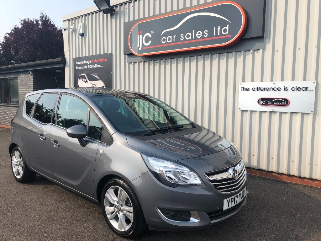 used Vauxhall Meriva SE Petrol Manual in louth-lincolnshire