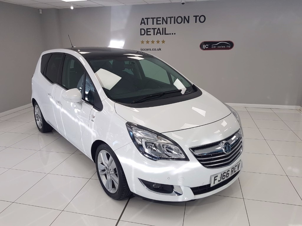 used Vauxhall Meriva SE AUTO WITH JUST 2,888 MILES AND HIGHER SEATING!! in louth-lincolnshire