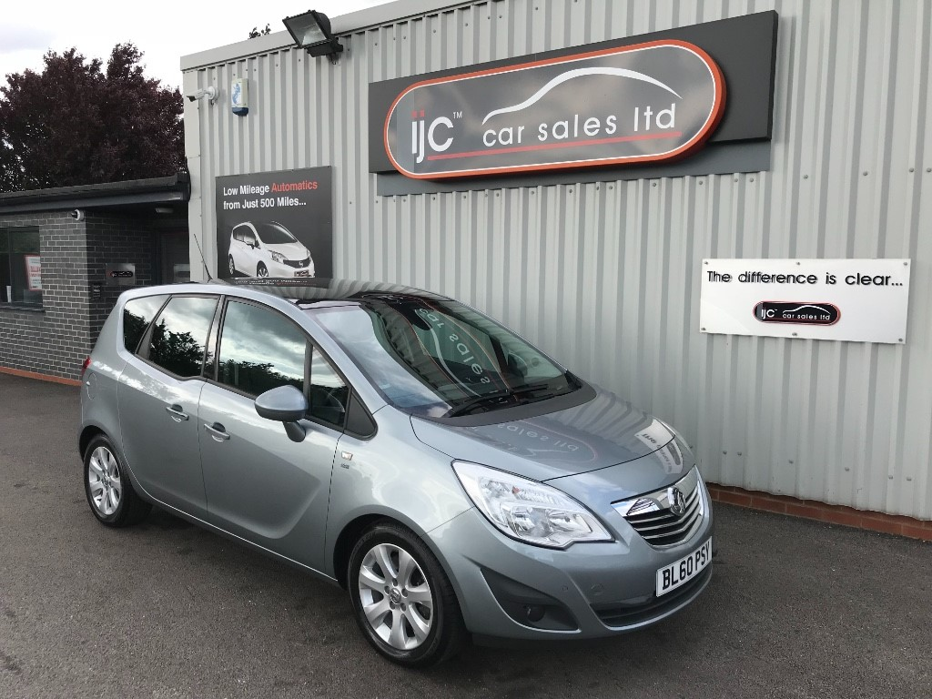 used Vauxhall Meriva SE CDTI in louth-lincolnshire