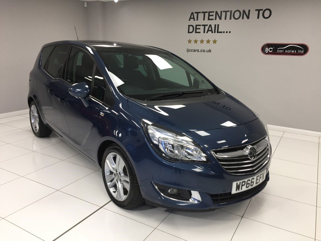 used Vauxhall Meriva SE PETROL AUTO WITH HIGHER SEATING POSITION AND JUST 2,000 MILES! in louth-lincolnshire