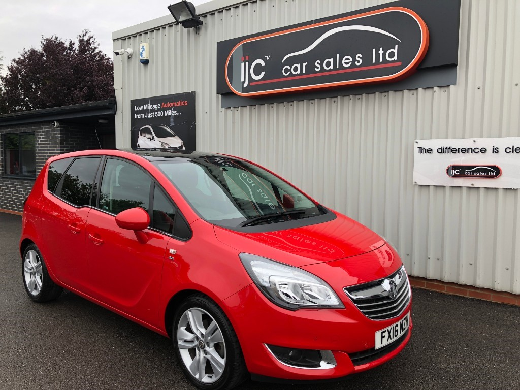 used Vauxhall Meriva SE 1.4 PETROL 118BHP AUTOMATIC in louth-lincolnshire