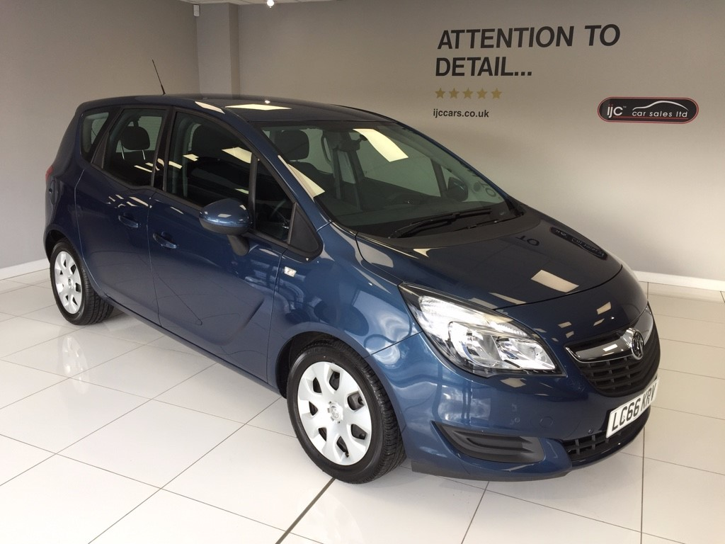 used Vauxhall Meriva CLUB AUTOMATIC WITH JUST 773 MILES!! ( YES JUST 773 MILES!) in louth-lincolnshire