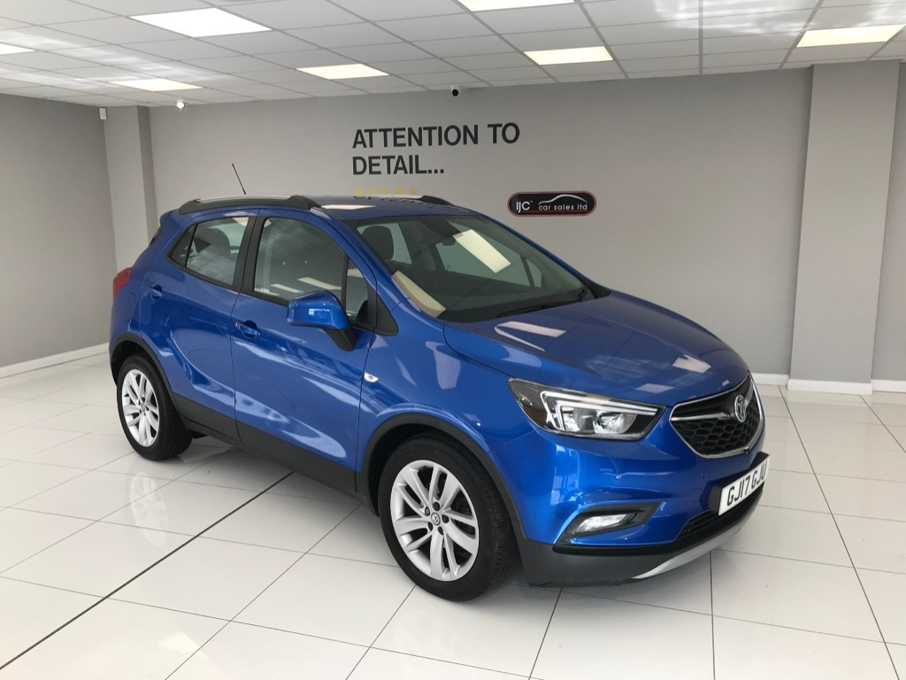 used Vauxhall Mokka X ACTIVE PETROL AUTO WITH HIGHER SEATING AND JUST 11,652 MILES!! in louth-lincolnshire