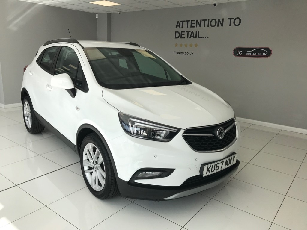 used Vauxhall Mokka X ACTIVE AUTOMATIC PETROL WITH JUST 12,486 MILES AND HIGHER SEATING! in louth-lincolnshire