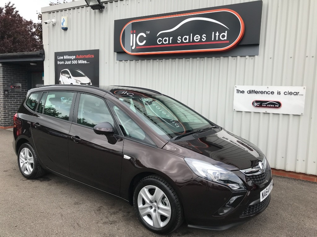 used Vauxhall Zafira Tourer EXCLUSIV CDTI in louth-lincolnshire