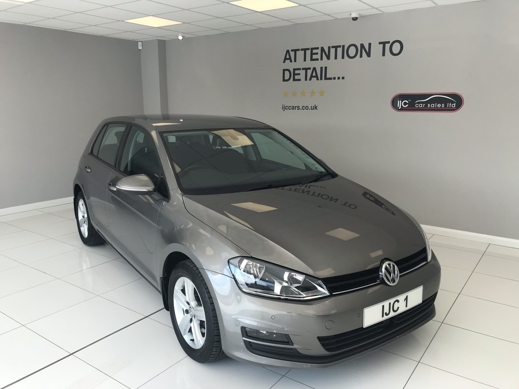 used VW Golf MATCH TDI BLUEMOTION TECHNOLOGY DSG in louth-lincolnshire