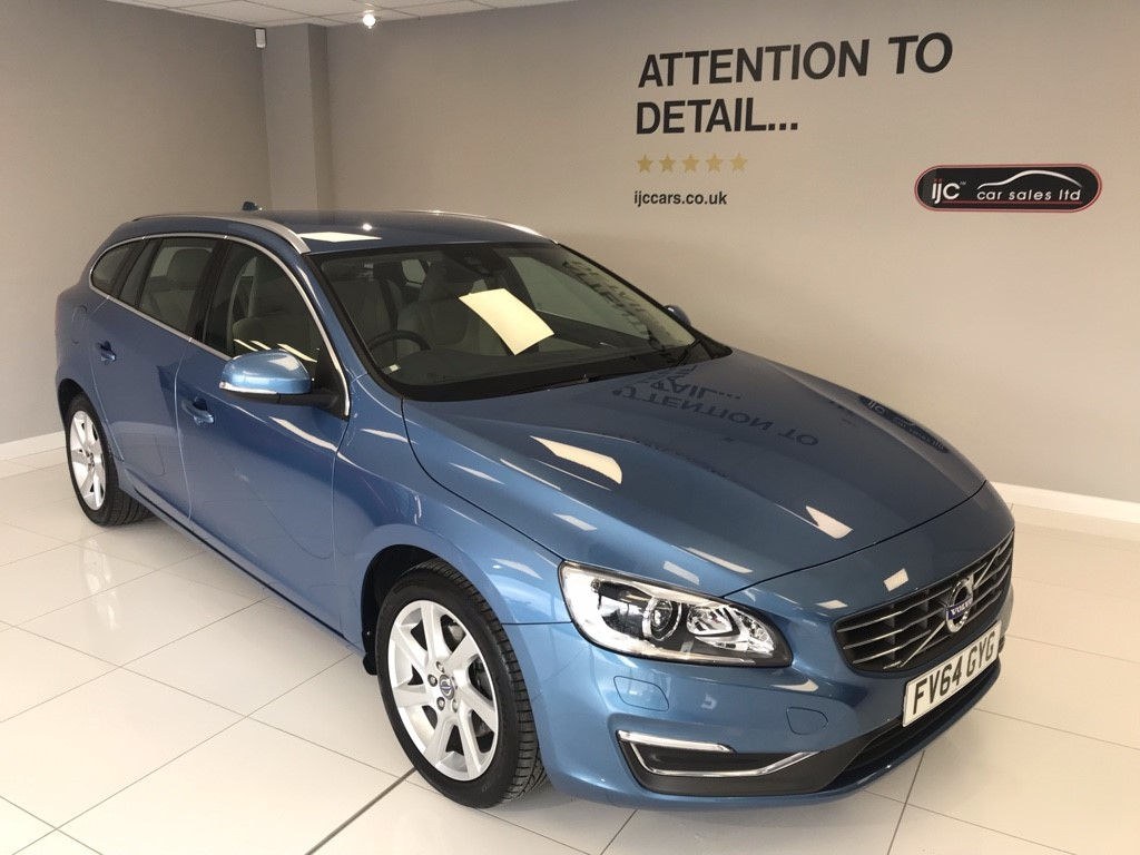 used Volvo V60 2.0 DIESEL AUTO D3 SE LUX NAV in louth-lincolnshire