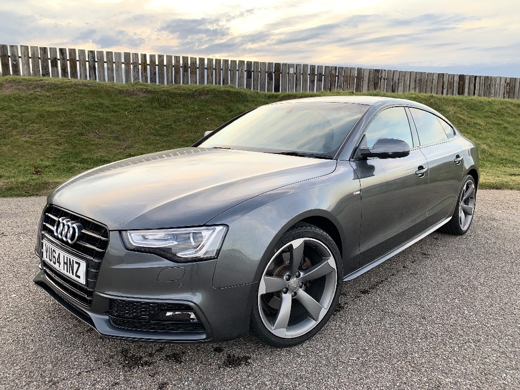 used Audi A5 SPORTBACK TDI S LINE BLACK EDITION in elgin-moray-morayshire
