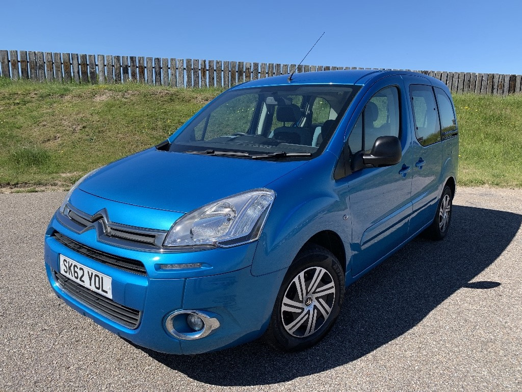 used Citroen Berlingo Multispace HDI VTR in elgin-moray-morayshire