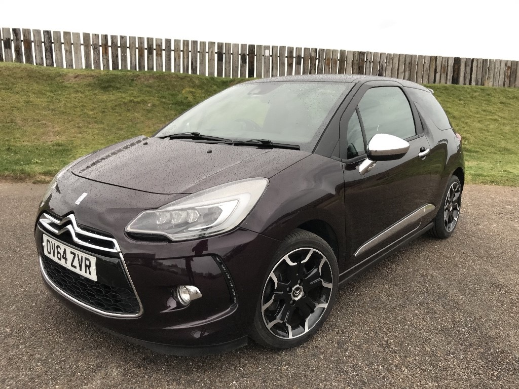 used Citroen DS3 THP DSPORT PLUS in elgin-moray-morayshire