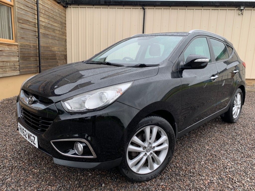used Hyundai ix35 CRDI PREMIUM in elgin-moray-morayshire