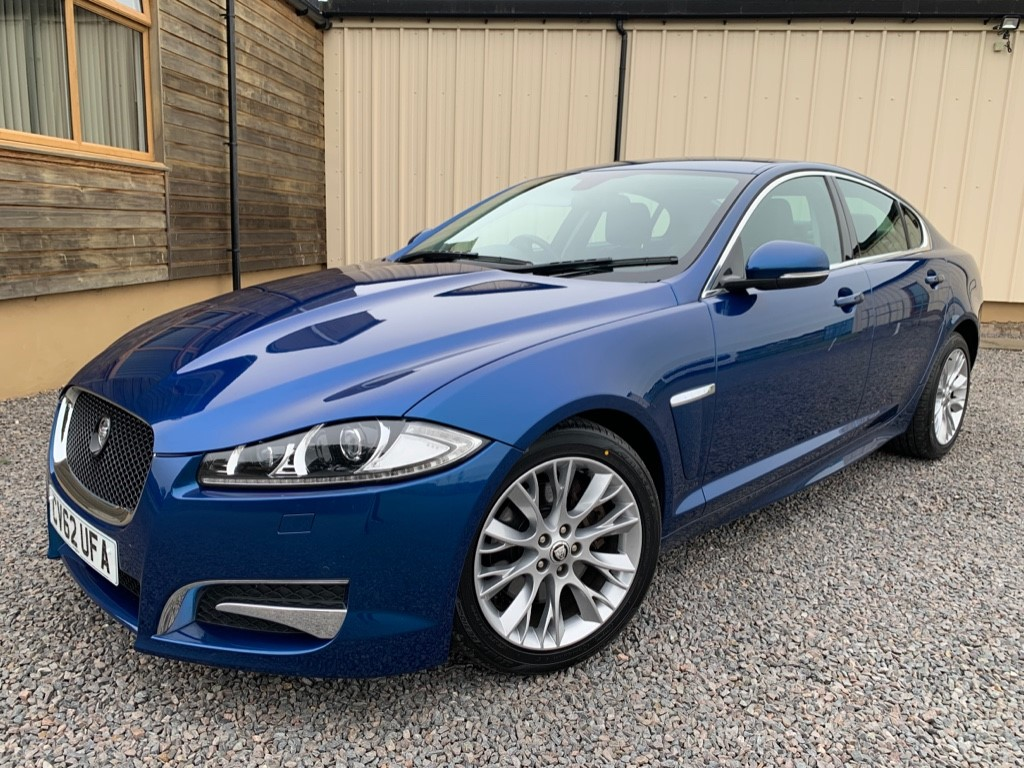 used Jaguar XF D SPORT LE in elgin-moray-morayshire