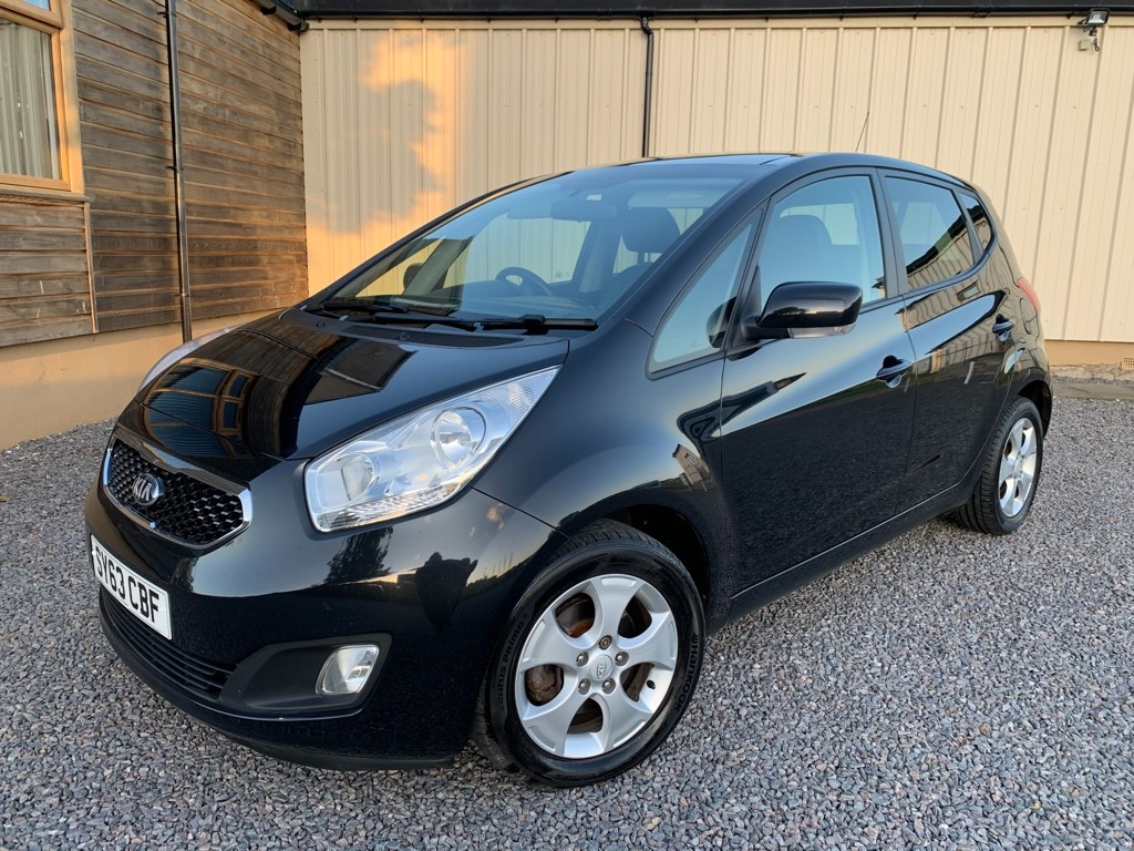 used Kia Venga CRDI 3 ECODYNAMICS in elgin-moray-morayshire