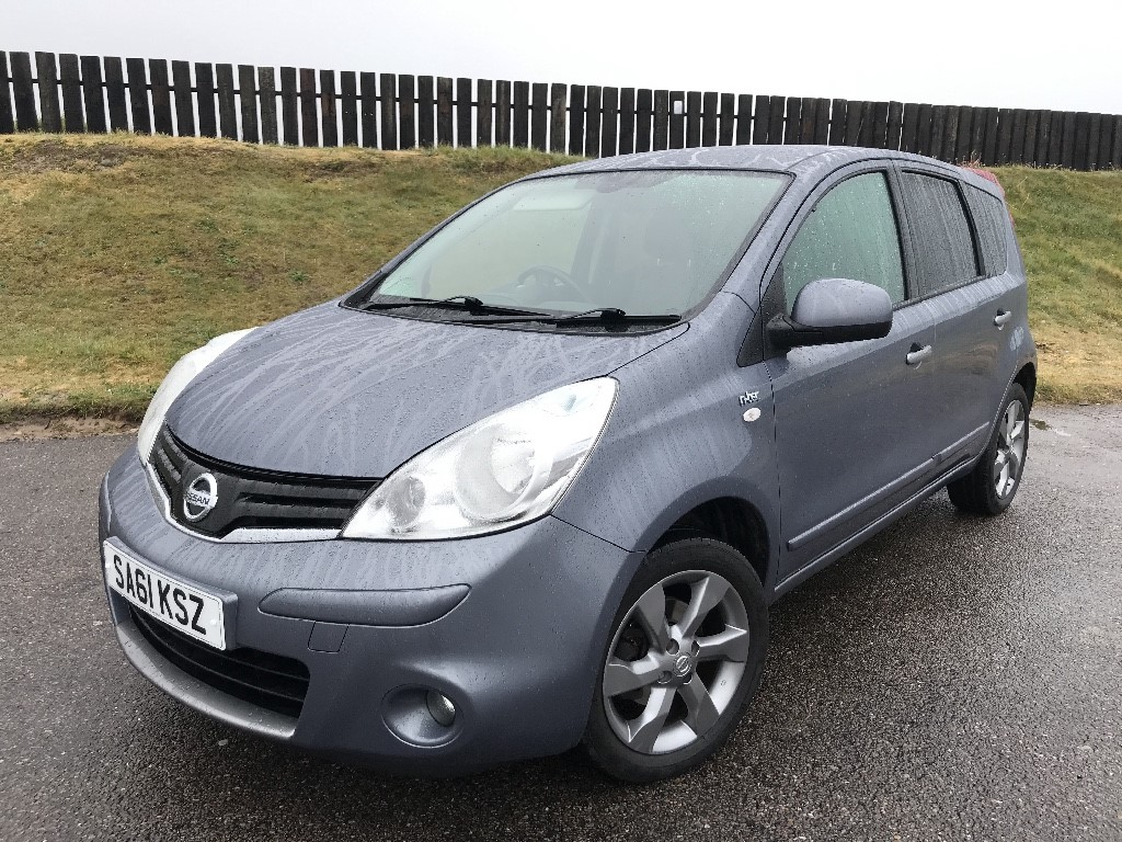 used Nissan Note N-TEC in elgin-moray-morayshire