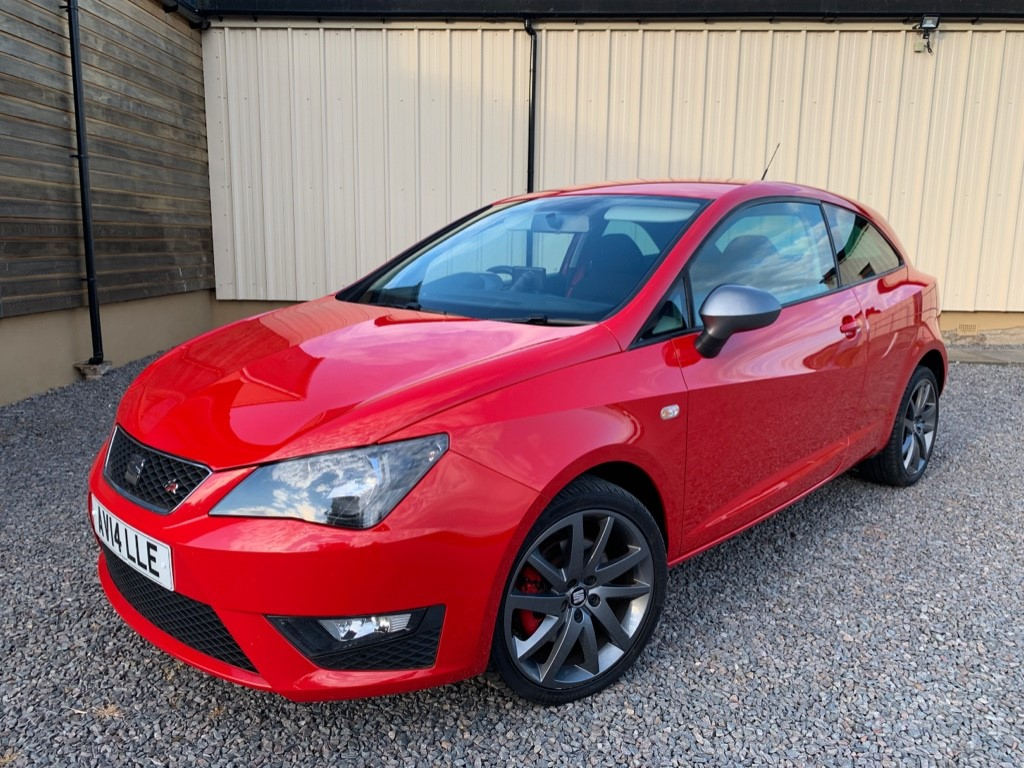 used SEAT Ibiza TSI ACT FR EDITION in elgin-moray-morayshire
