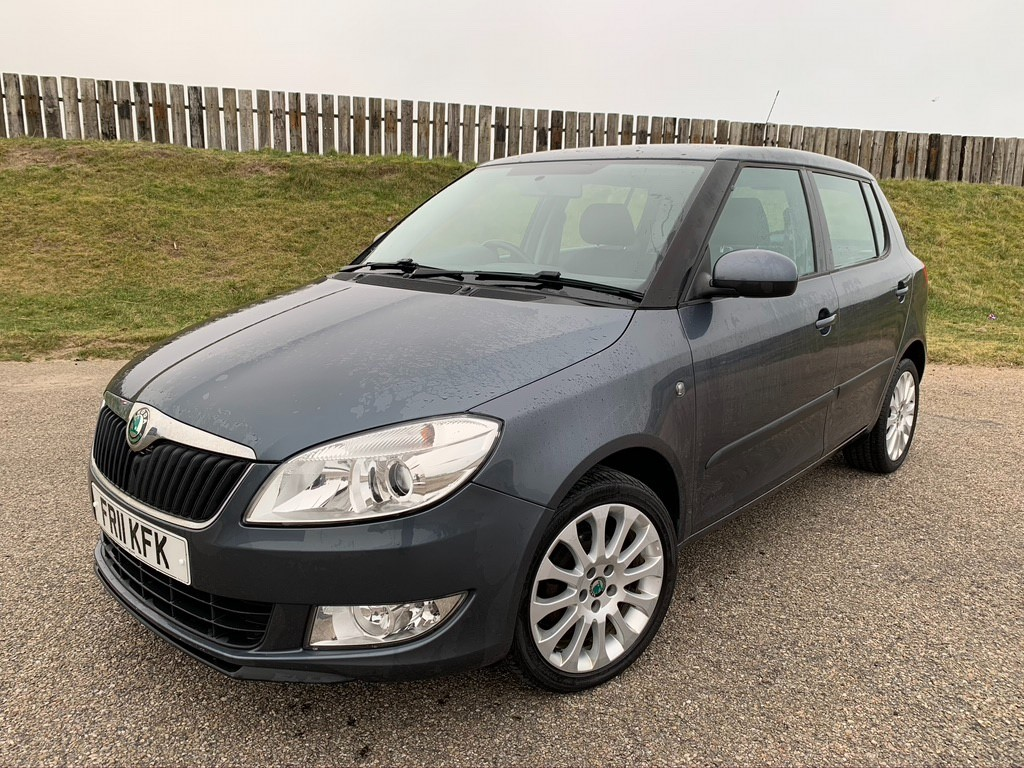 used Skoda Fabia ELEGANCE TDI CR in elgin-moray-morayshire