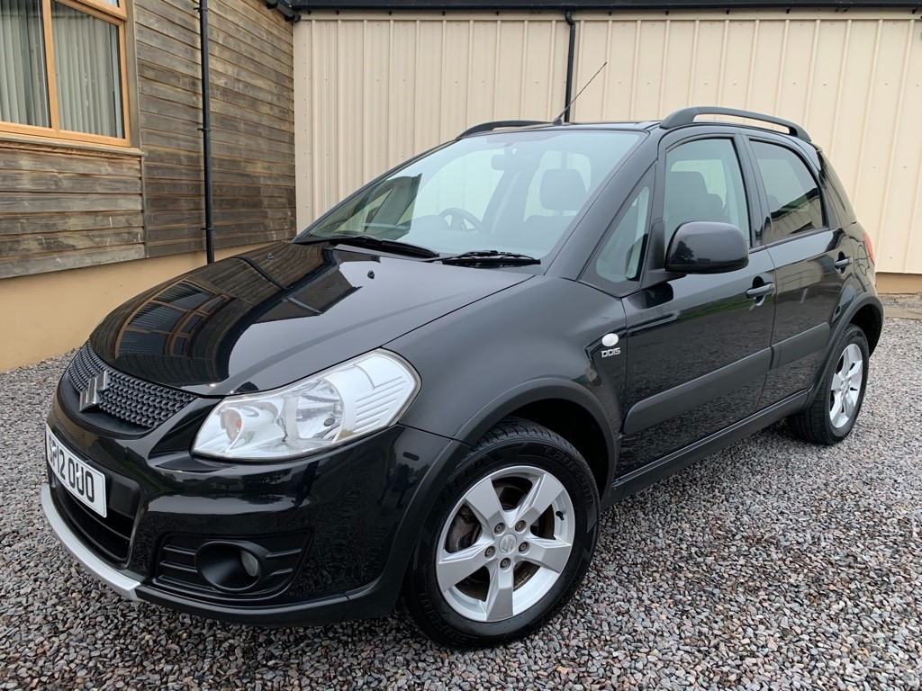 used Suzuki SX4 SZ5 DDIS 4X4 in elgin-moray-morayshire