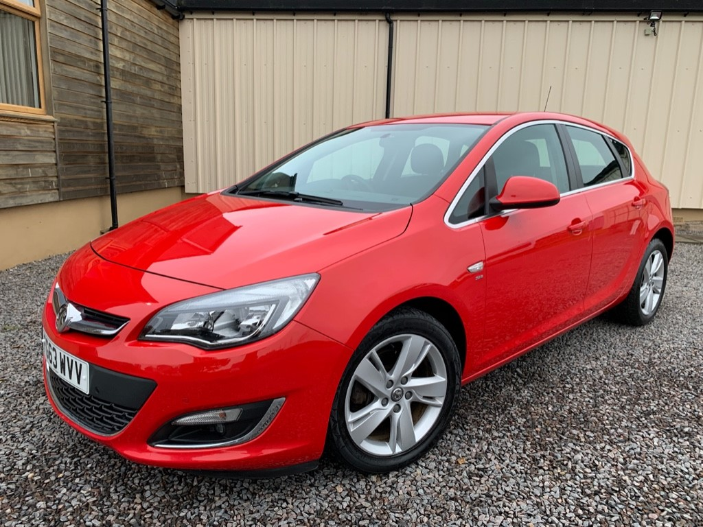 used Vauxhall Astra SRI CDTI in elgin-moray-morayshire