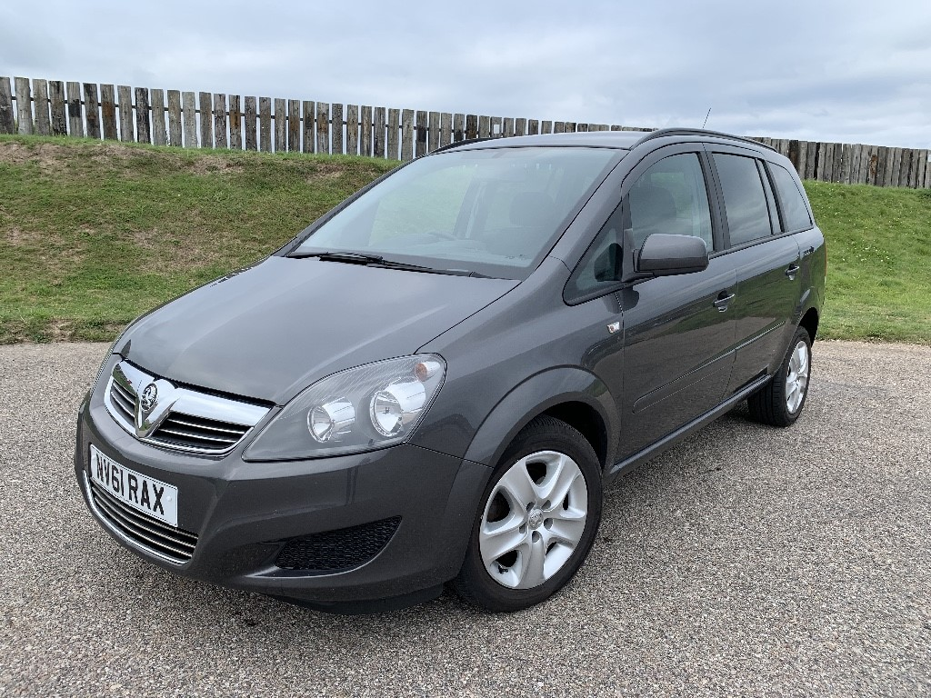 used Vauxhall Zafira EXCLUSIV in elgin-moray-morayshire
