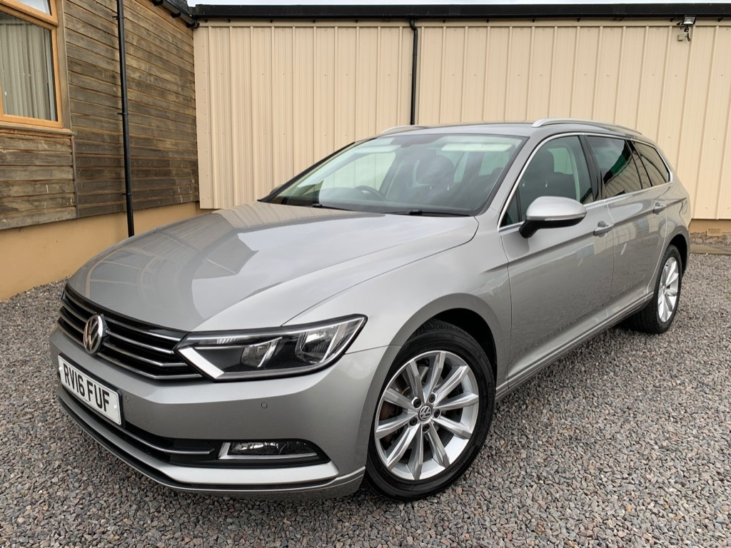 used VW Passat SE BUSINESS TDI BLUEMOTION TECHNOLOGY in elgin-moray-morayshire