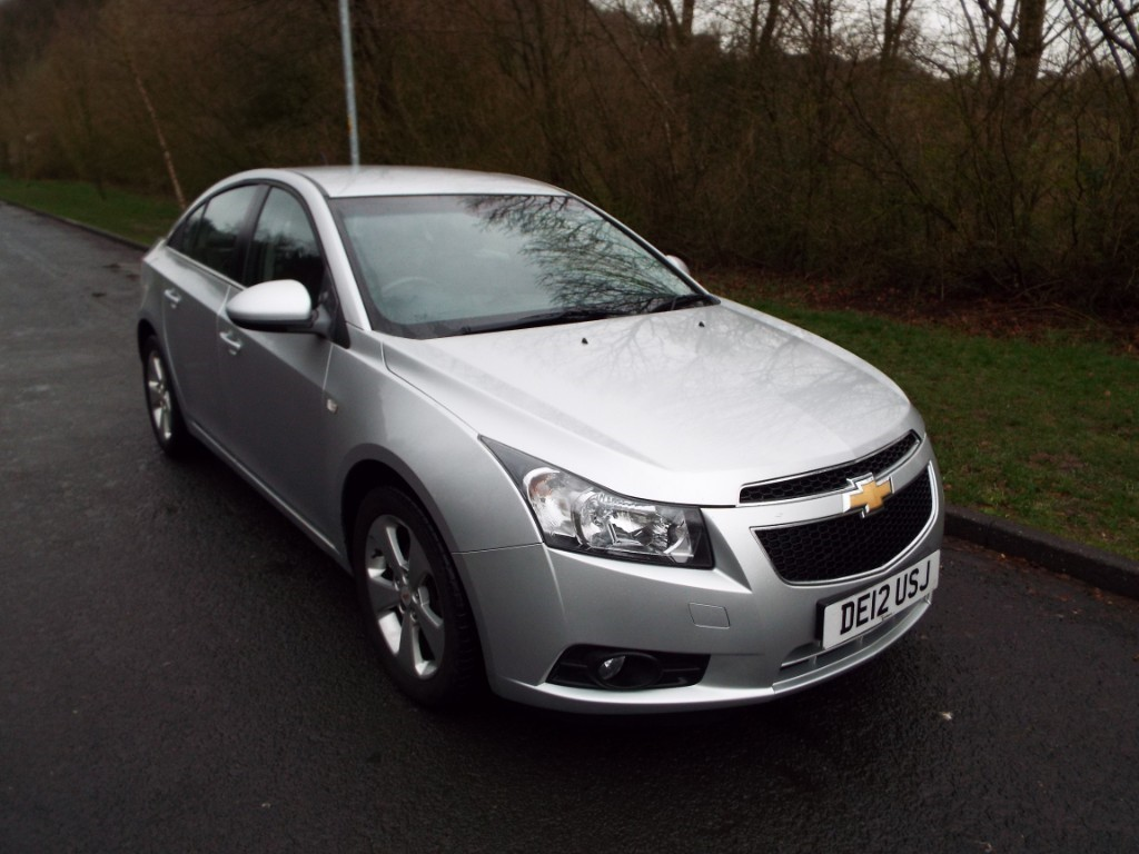 Used Metallic Silver Chevrolet Cruze for Sale | Lancashire