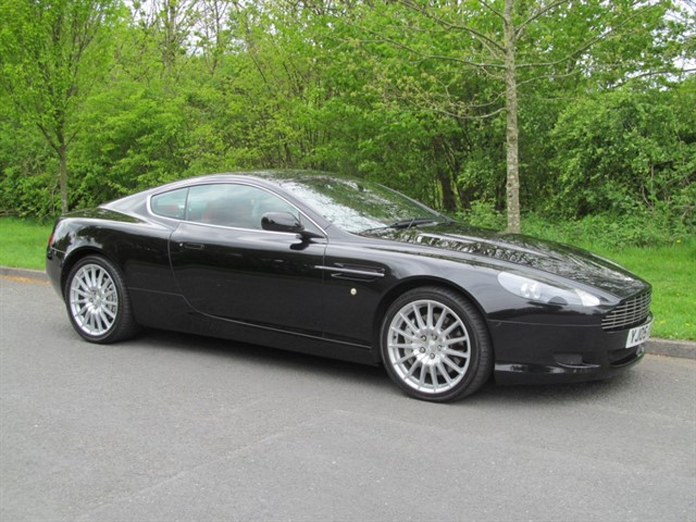 used Aston Martin DB9 V12 in lancashire