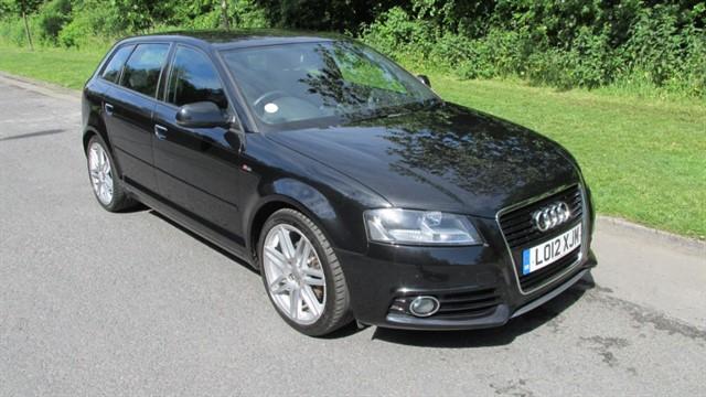 used Audi A3 SPORTBACK TDI S LINE in lancashire