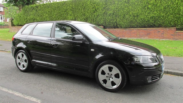 used Audi A3 TDI SPORT in lancashire