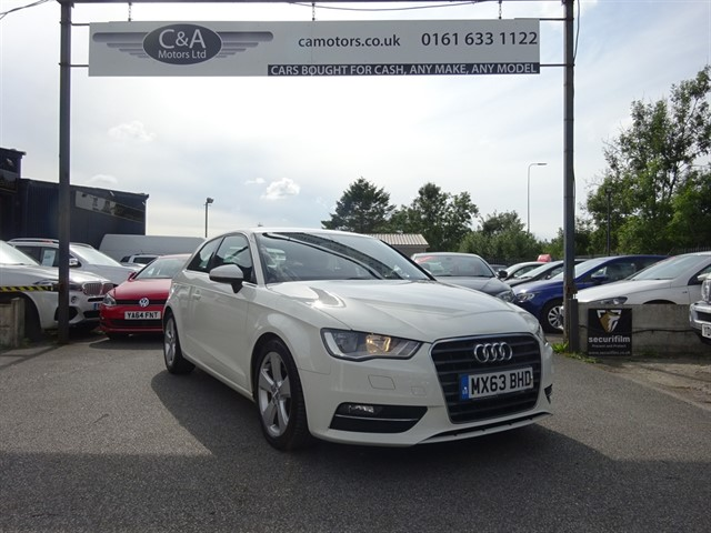 used Audi A3 TFSI SPORT in lancashire